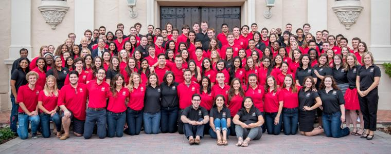 The entire Residence Life team!