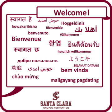 One Column - Multi-Language Welcome Sign