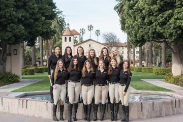 image of the equestrian team 19-20 season