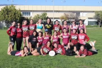 team image women's ultimate frisbee 19-20