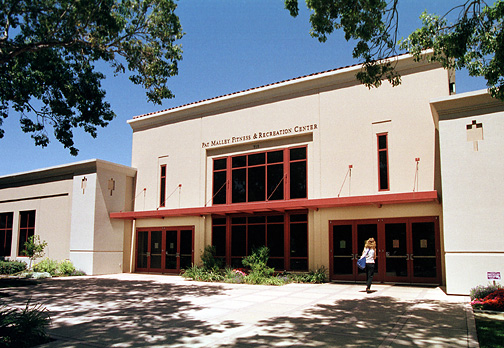 Malley Center entrance