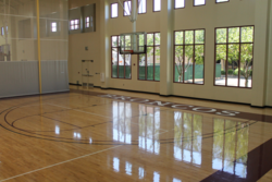 Malley Center basketball courts