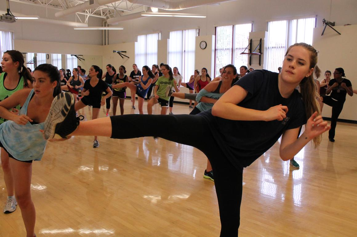 Kickboxing Class at Malley Center