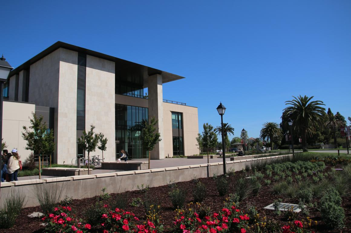 Photo of the Howard S. and Alida S. Charney Hall of Law building