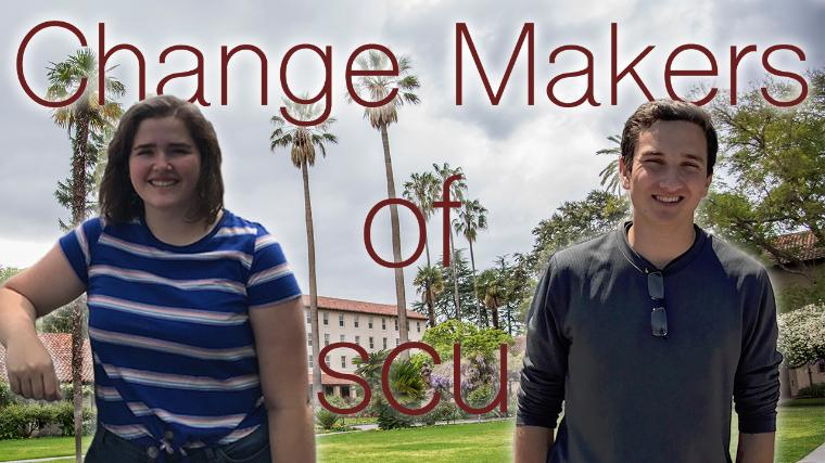 change makers of SCU, jenny moore and steven bucher image link to article