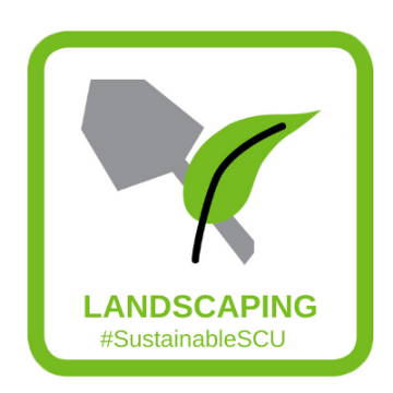 light green landscaping #sustainableSCU