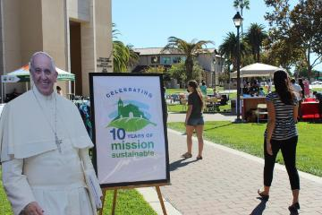 pope francis campus sustainability day 2015