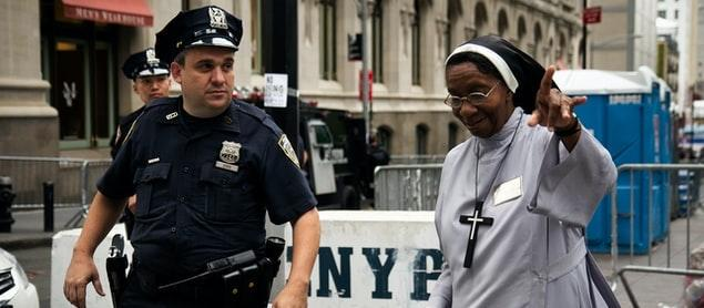 New York City police officer and nun,