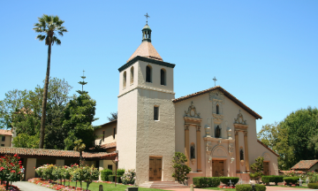 Mission Church at Santa Clara University