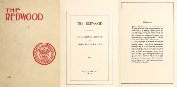 The Redwood - Yearbook Santa Clara University