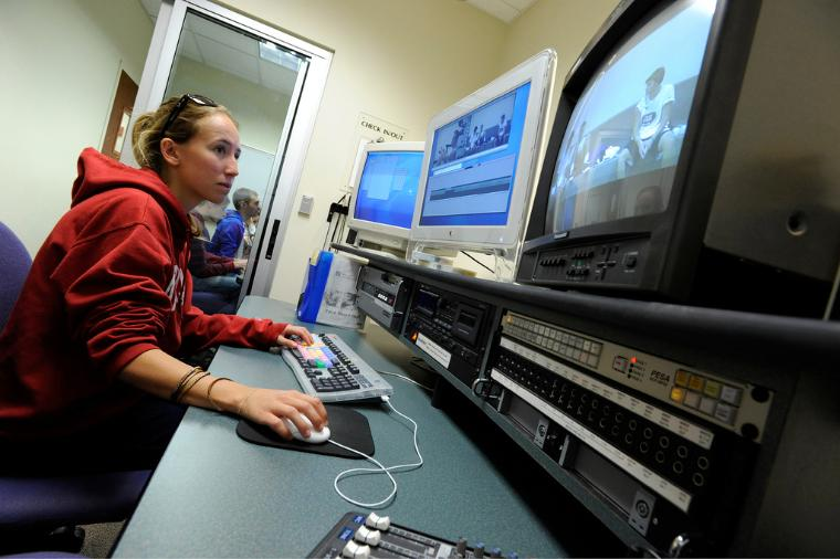 Santa Clara's 2,200 square-foot television studio is among the best found on any university campus nationwide.