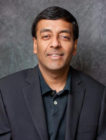 Finance Professor Sanjiv Das Head Shot