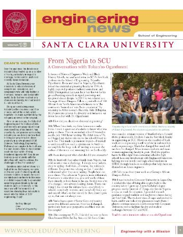 SCU eNews Winter 2016