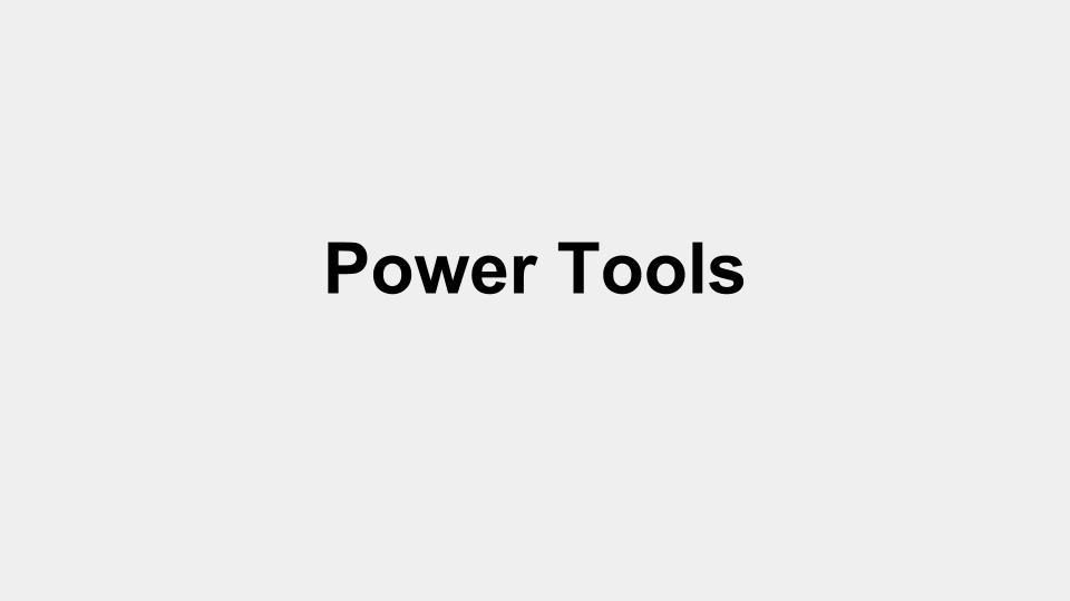 Power Tools Image 1