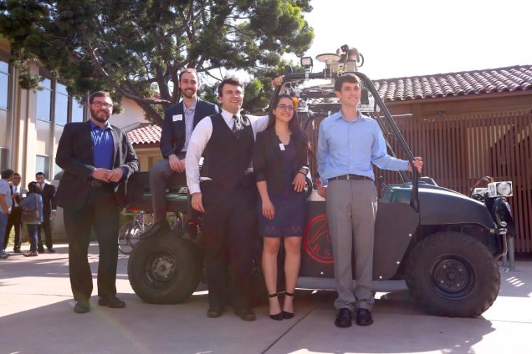 2016 Senior Design RSL Rover Team